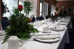Banquete formal II Imagens de Stock Royalty Free