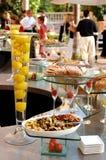 Banquete gastrónomo Imagenes de archivo