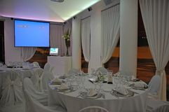 Banquete grande Imagen de archivo