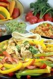 Banquete mexicano del alimento Imágenes de archivo libres de regalías