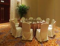 Banquete Pasillo fotografía de archivo