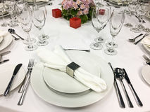 Banquete/restauração Imagens de Stock