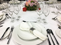 Banquete/restauração Fotografia de Stock