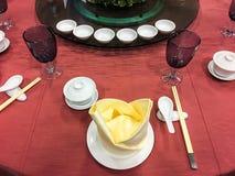 Banquete/restauração Foto de Stock Royalty Free