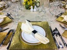 Banquete/restauração Fotos de Stock Royalty Free