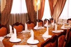 Banquete Salão Imagens de Stock