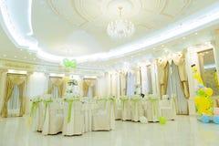 Banquete Salão com balões Fotografia de Stock