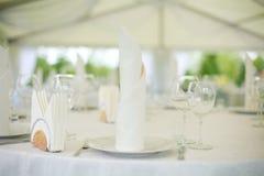 Banquete Wedding Imágenes de archivo libres de regalías