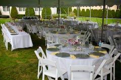 Banquete Wedding Fotos de archivo libres de regalías