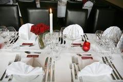 Banquete Wedding Foto de Stock Royalty Free
