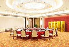 banqueting китайская роскошь залы Стоковое фото RF