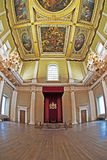 banqueting трон rubens дома потолка Стоковые Изображения RF