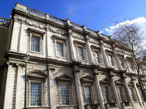 Banqueting House. The Banqueting House built between 1619-22 and designed by Inigo Jones is the only part of the Palace of Whitehall to be rebuilt after being Stock Image