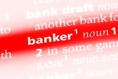 Banquier photos stock
