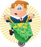 Banquier image libre de droits