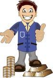 Banquier illustration de vecteur