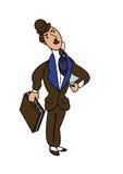 Banquier anglais illustration de vecteur