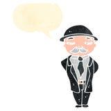 banquier de bande dessinée illustration libre de droits
