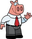 Banquier porcin illustration de vecteur