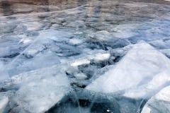 Banquisas de gelo Fotografia de Stock Royalty Free