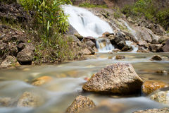 Bansapansua waterfall Stock Images