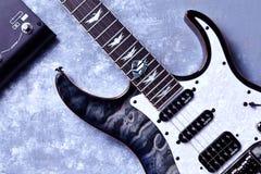 Banshee 6 di Schecter - chitarra elettrica estrema immagine stock libera da diritti
