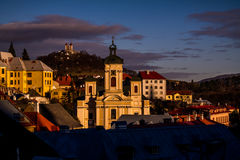 BanskÃ-¡ Åtiavnica Slowakei lizenzfreie stockbilder