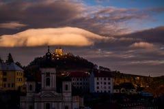 BanskÃ-¡ Åtiavnica Slowakei stockfotos