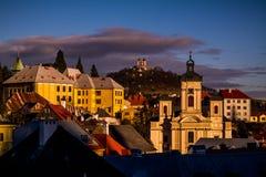 Banská Štiavnica Slowakije stock afbeelding