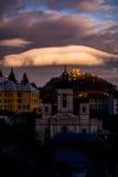 Banská Štiavnica Slowakije stock foto's