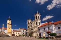 Banskà ¡ Bystrica Arkivfoto