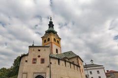 Banska Bystrica城堡在斯洛伐克 免版税库存图片