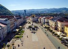 Banska Bystrica - Centrum Royalty-vrije Stock Afbeeldingen