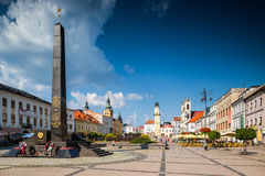 Banska Bystrica - Główny Stary kwadrat Zdjęcia Stock