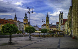 Banska Bystrica. In hearth of Slovakia Royalty Free Stock Images