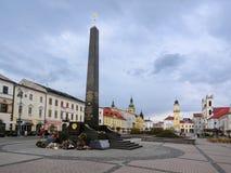 Banska Bystrica minnesmärke Royaltyfri Fotografi