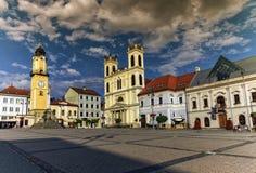Banska Bystrica's main square, Slovakia Stock Images