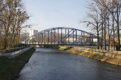 Banska Bystrica, Slovacchia - ponte immagini stock libere da diritti
