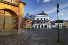 Banska Bystrica, Slovakia. Square in Banska Bystrica, Slovakia Royalty Free Stock Photos