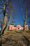 banska calvary Slovakia stiavnica fotografia royalty free