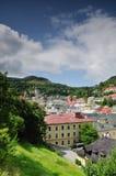 banska historyczny górniczy stiavnica miasteczko zdjęcie stock