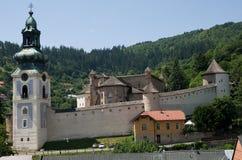 Banska Stiavnica,斯洛伐克 免版税库存图片