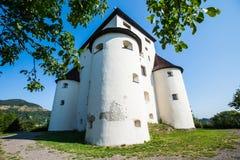 Banska Stiavnica,斯洛伐克-新的城堡 库存照片