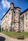 Banska Stiavnica,斯洛伐克-老城堡 免版税库存图片