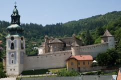 Banska Stiavnica, Σλοβακία Στοκ εικόνες με δικαίωμα ελεύθερης χρήσης