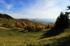 Banska Stiavnica, φωτογραφία από τη λίμνη Ottergrund στοκ εικόνες με δικαίωμα ελεύθερης χρήσης