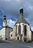 Banska Stiavnica. Slovakia - town in UNESCO Stock Photos