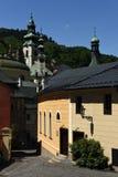 Banska Stiavnica, alte Stadt, Slowakei, UNESCO Stockbilder