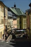 Banska Stiavnica, alte Stadt, Slowakei, UNESCO Lizenzfreie Stockfotos