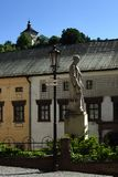 Banska Stiavnica, alte Stadt, Slowakei, UNESCO Stockfotografie